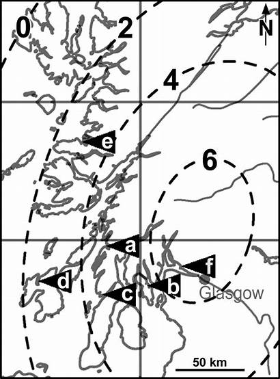 Isostatic Scotland Smith Uplift Glacial Since Lathe