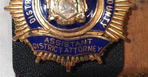 york county assistant district attorney badge badges