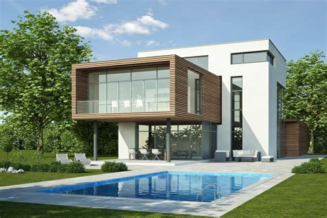 Massivfertighaus Schnell Und Massiv Gebaut by Glasfassade Rahmenlose Verbindung Zum Garten