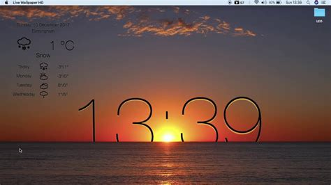 Desktop Wallpapers by How To Get Free Live Wallpaper Weather With Clock Hd For