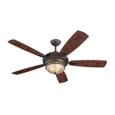monte carlo drawing room 56 in roman bronze ceiling fan