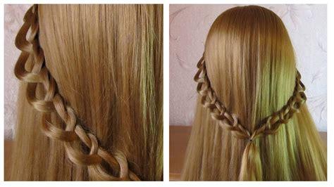 coiffure facile a faire soi meme pour cheveux mi tresse simple et rapide