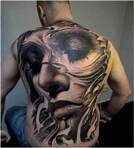 Frauen Rücken Tattoo : 1001 ideen f r coole tattoos 3d inspirierende motive und designs ~ Frokenaadalensverden.com Haus und Dekorationen