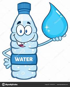 Cartoon Plastic Bottle — Stock Vector © HitToon #141927018
