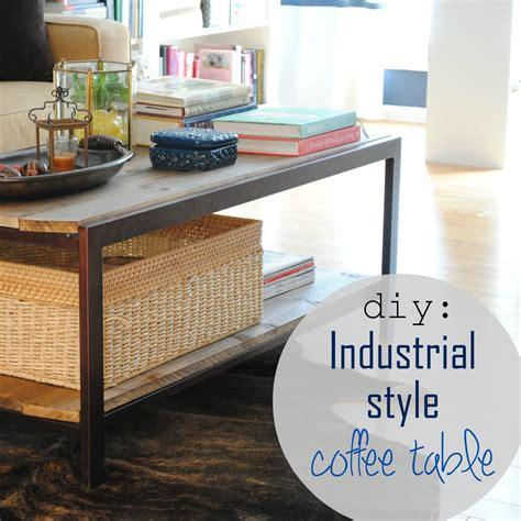 diy modern coffee table diy modern to industrial style coffee table burger Diy Modern Coffee Table