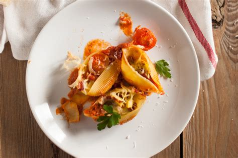 sauce for stuffed pasta a favorite stuffed pasta shells with ratatouille sauce 31 daily