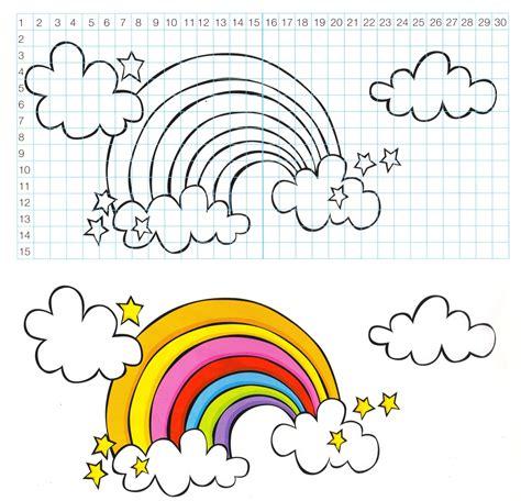 coloriage de chambre de fille chambre ado déco un mur en arc en ciel