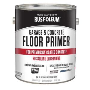 garage floor paint primer rust oleum 1 2 gal garage and concrete floor primer case of 2 306196 the home depot