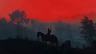 Witcher Geralt Silhouette