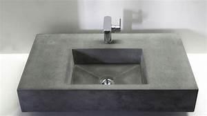 Waschtisch Aus Beton : betonwaschbecken wohnwerte aus beton ~ Lizthompson.info Haus und Dekorationen