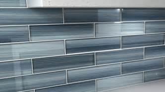 glass backsplashes for kitchens blue gentle grey 3x12 glass tile for kitchen backsplash ebay