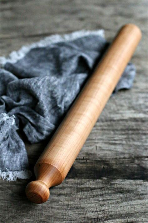 vintage reproduction french rolling pin  world kitchen