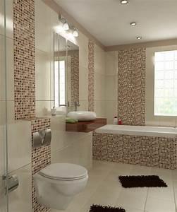 Badezimmer Fliesen Braun : bilder 3d interieur badezimmer braun beige wei 39 baie bucur 39 1 ~ Orissabook.com Haus und Dekorationen