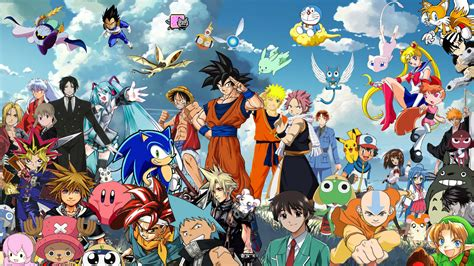 Anime Crossover Wallpaper Hd - crossover wallpapers hd for desktop backgrounds