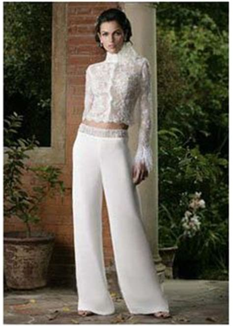 1000+ images about wedding pantsuit on Pinterest | Wedding dresses for cheap Mermaid silhouette ...
