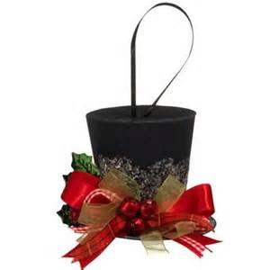 17 best images about christmas tophats on pinterest black spray paint floral arrangements