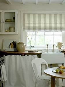 Kitchen curtains this is basically what i want to make a for Curtains that look like roman shades