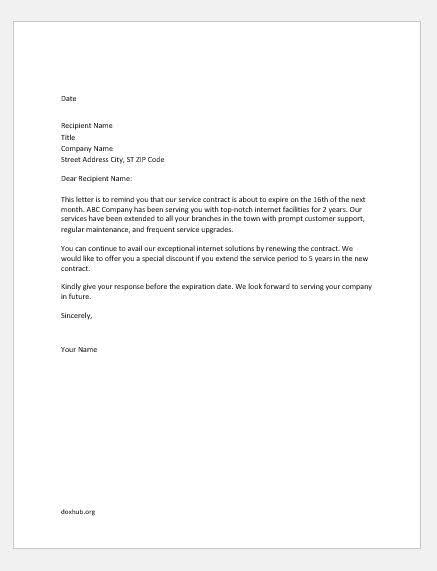 recommendation letter for renewal of contract of employee - Google Search | Letter of