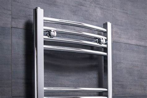 Contemporary Curved Heated Towel Rail Radiator X