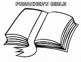 Coloring Bible Preacher Preachers Template Utilising Button sketch template
