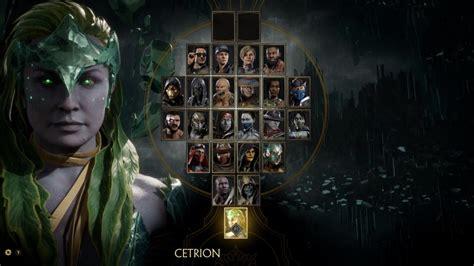 Mortal Kombat 11 Nearly Final Character Select Screen 1