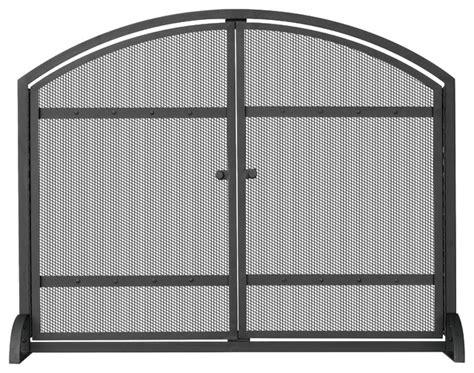 Single Panel Screen With Doors