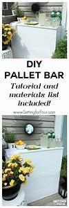 Diy Pallet Bar - Instructions To Make