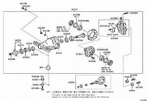 Lexus Ls 430 Washer  Plate  For Rear Differential Side