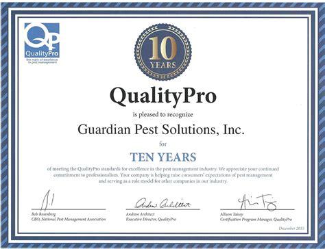pest control company guardian pest solutions