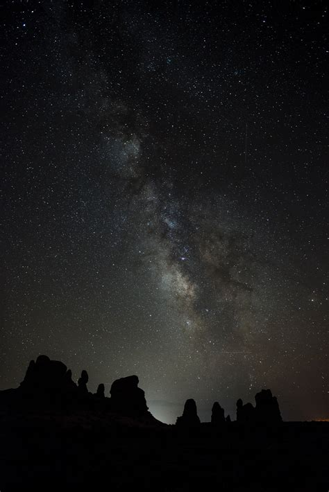 Free Images Landscape Rock Wilderness Silhouette Sky
