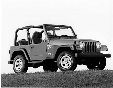 small jeep white looking back at the jeep 174 tj wrangler the jeep blog
