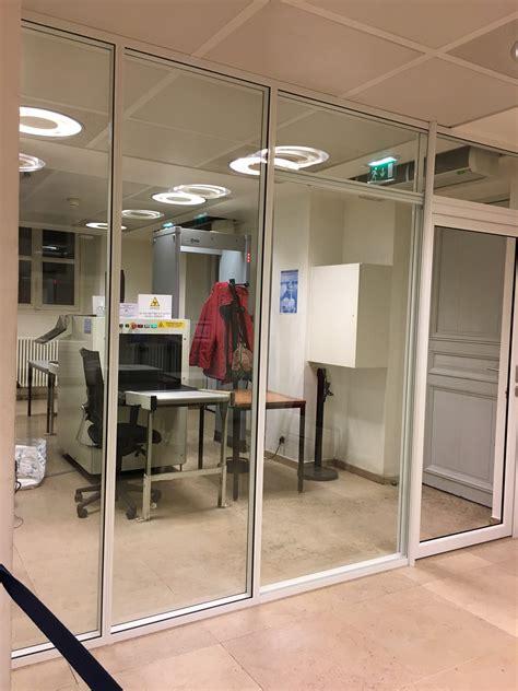 porte de bureau vitr馥 les réalisations de cloison de bureau m2 space ile de