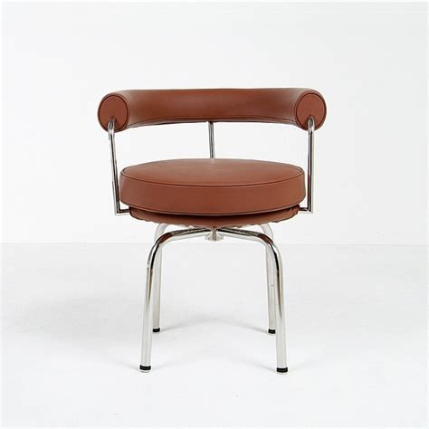 le corbusier lc8 turning chair reproduction modern