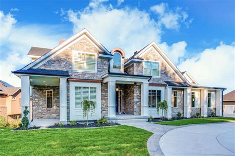 luxury country craftsman plan  ample outdoor living space whd architectural