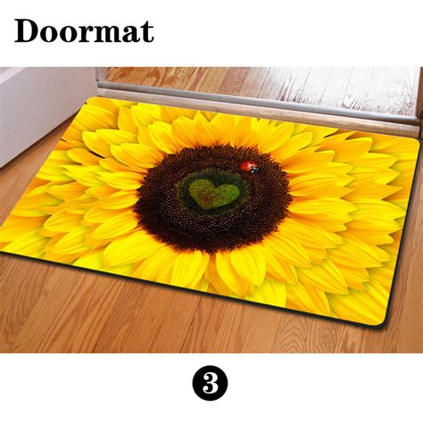 sunflower kitchen mat get cheap sunflower kitchen mat aliexpress 2611