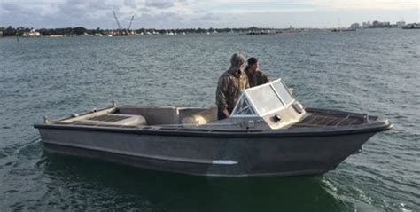 Used Work Boats For Sale Florida by Sea Ark Aluminum Work Boat 1989 Used Boat For Sale In Palm