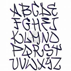 Graffiti font alphabet letters. Hip hop type grafitti ...