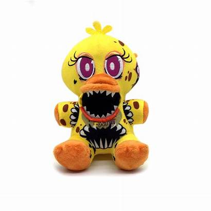 Chica Fnaf Twisted Plush Toy Scary Ones