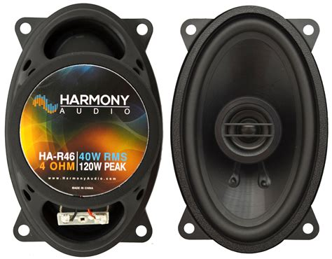 fits gmc 1500 1999 2002 rear pillar replacement harmony ha r46 speakers ha spk replace1016