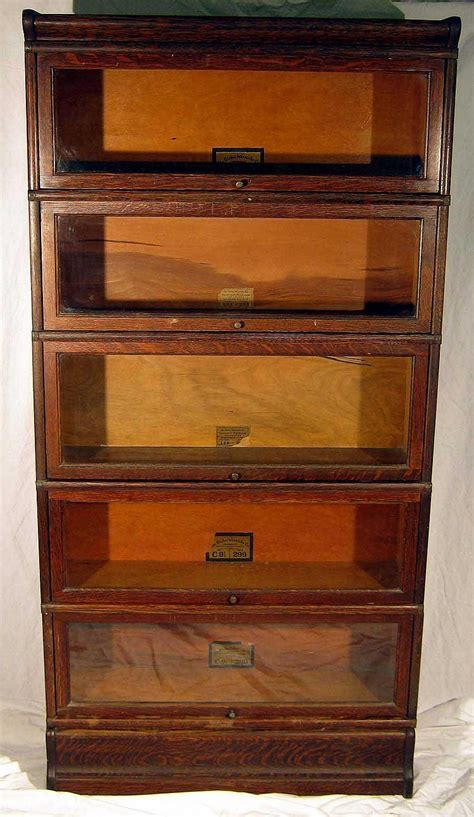 barrister bookcases with glass doors furniture globe wernicke co antique oak stacking barrister