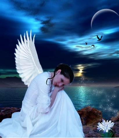 Angel Fairy Screensavers Desktop Fairies Wallpapers Christmas