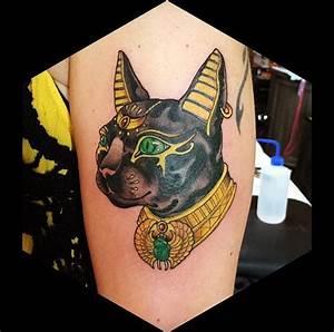 The 25+ best Egyptian cat tattoos ideas on Pinterest ...