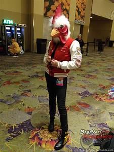 Hotline Miami Rooster Cosplay Phoenix Comicon 2015