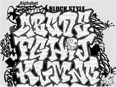 3D Graffiti Fonts 3D G...