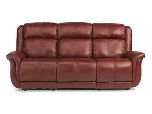 flexsteel 1251 62p leather power reclining sofa inter