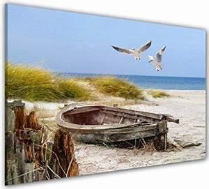 Nordsee Bilder Auf Leinwand : bilder manufaktur leinwandbilder kunstdruck wandbild bild bilder 7737 1 strand sand ~ Watch28wear.com Haus und Dekorationen