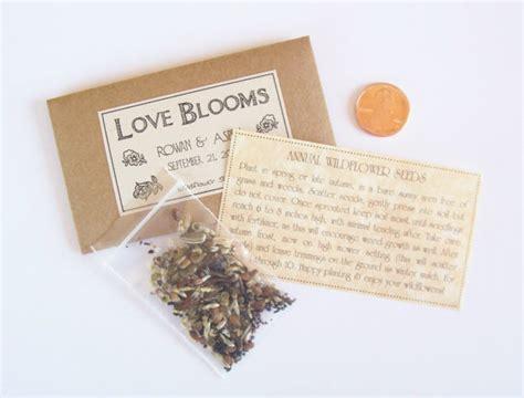 sample wedding favor seeds flower  fairylandbazaar