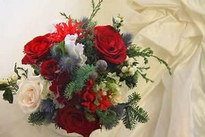 The Flower Magician Christmas Wedding Bouquet