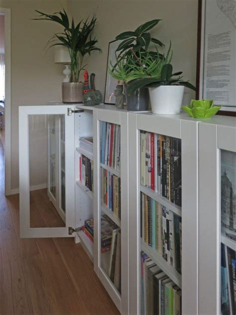Ikea Billy Ideen by Billy Bookcases With Grytn 196 S Glass Doors Ikea Hacks