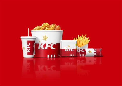 kfc china  years rebrand  packaging   world